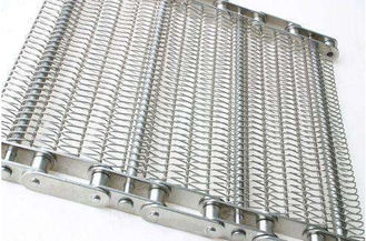 China Honeycomb High Temp Conveyor Belt With Baffle , Strong Tension Balanced Weave Belt supplier