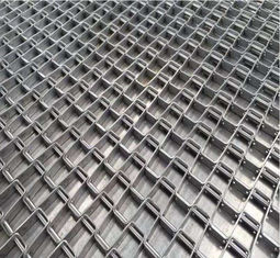 China Honeycomb Wire Stainless Steel Wire Belt Conveyor For Food Industry Strong Tension supplier