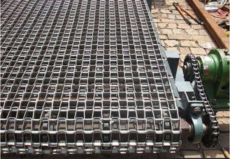 China Stainless Steel Network Rod Conveyor Belt , Cold Resistant Conveyor Belt Custom Made supplier