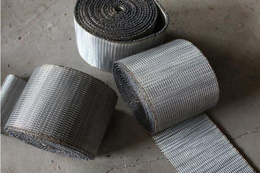 China Double Spin Wire Conveyor Belts High Temperature For Food Processing supplier