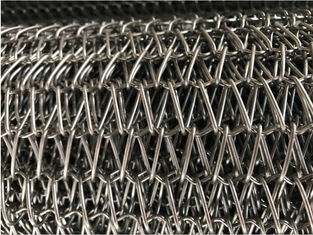 China Custom Wire Mesh Food Conveyor Belt Heat Resistant Abrasion Resistant supplier