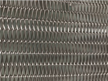 China Metal Wire Mesh Heated Conveyor Belt  , Transportion High Temperature Conveyor supplier