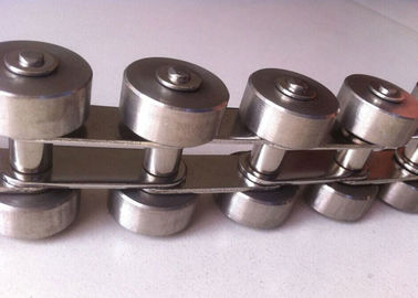 China Stainless Steel 304 Roller Conveyor Chain For Power Transmission ANSI Standard supplier