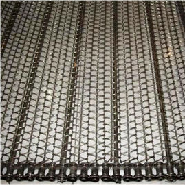 China Stainless Steel Balanced Weave Belt Pressed Edge Custom Running Smoothly supplier