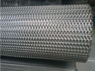 China Straight Running Wire Conveyor Belts Alkali Resisting Flat Surface Custom supplier