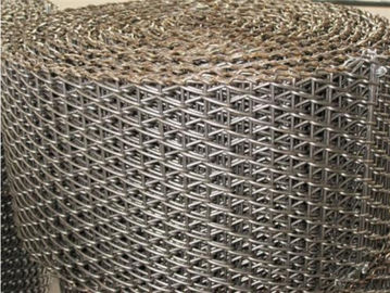 China Perforated Flexible Conveyor Belt Balanced Weave For Food Customized Design supplier