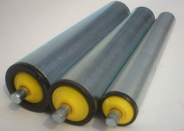 China Automatic Fixed Pipe Conveyor Belt Rollers Dust Proof Low Friction ISO9001 supplier