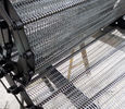 China Oven Factory Net Chain Conveyor Belt Flat Surface High Strength Custom Design factory