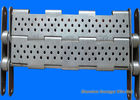 China Punching Chain Plate Conveyor , Customized Design Steel Plate Conveyor factory