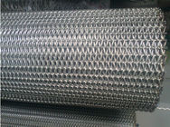 China Chain Driven Flexible Conveyor Belt Metal Mesh Straight Running Steady Performance factory