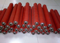 China Rubber Coating Active High Speed Conveyor Rollers For Production Line Machine factory