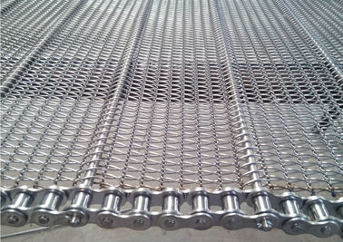 China Stainless Steel Chain Conveyor Belt High Strength Customized For Food Baking distributor