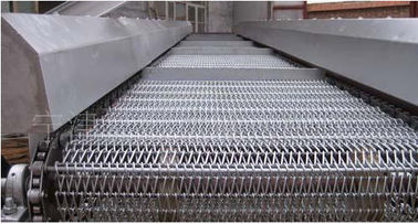 China Stainless Steel Metal Conveyor Belts Spiral Link For Roasting Pizza Oven distributor