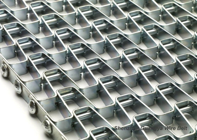 Welded Edges Honeycomb Belt Conveyor For Packing , Customizable High Temperature Belt