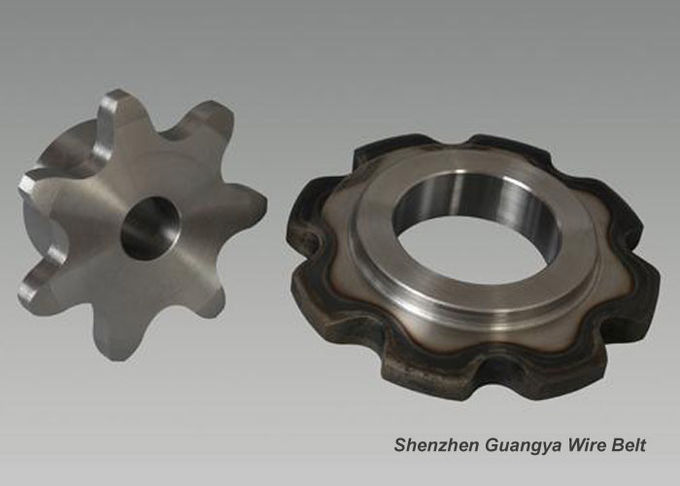 High Precision Stainless Steel Sprockets Wheel Gear With Powder Metallurgy Processing