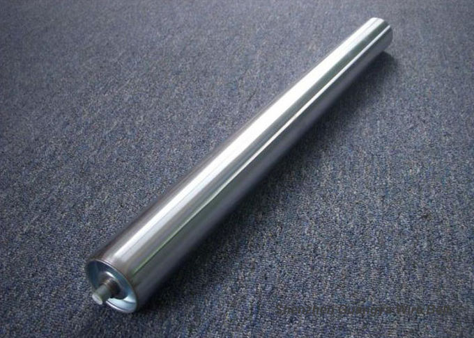 Stainless Steel Heavy Duty Conveyor Rollers , Conveyor Belt Drive Rollers For Printing Industry