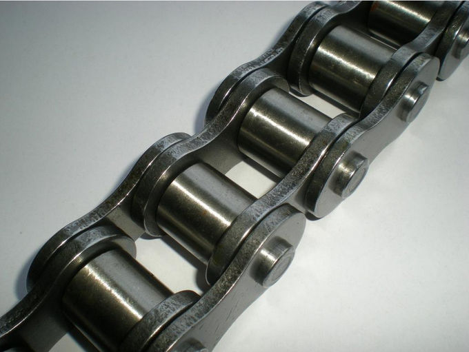 Various Custom Stainless Steel Roller Conveyor Chain Industrial Use Heavy Hit Resisting